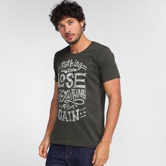 Camiseta Tribo Santa Estampada Masculina