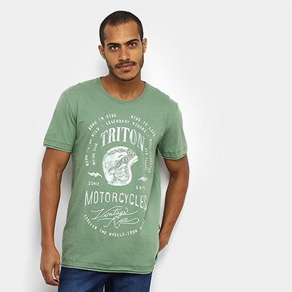 Camiseta Triton Motorcycle Masculina
