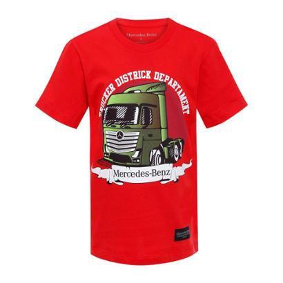 Camiseta Trucker Infantil Mercedes-Benz