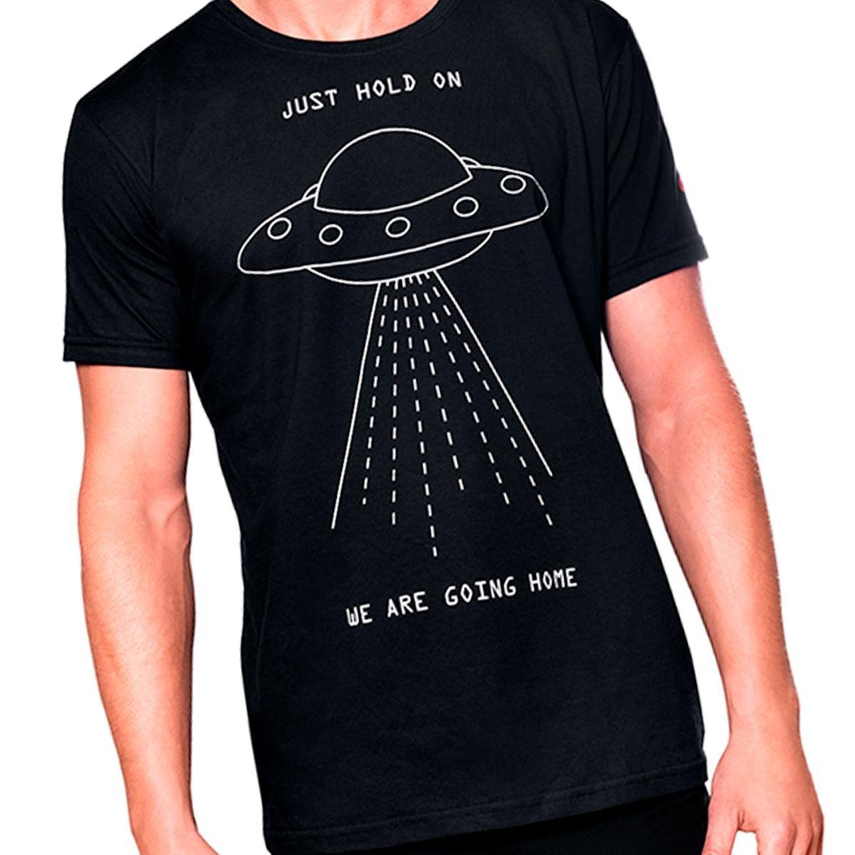 Camiseta UFO  UseLiverpool  Masculina - Preto