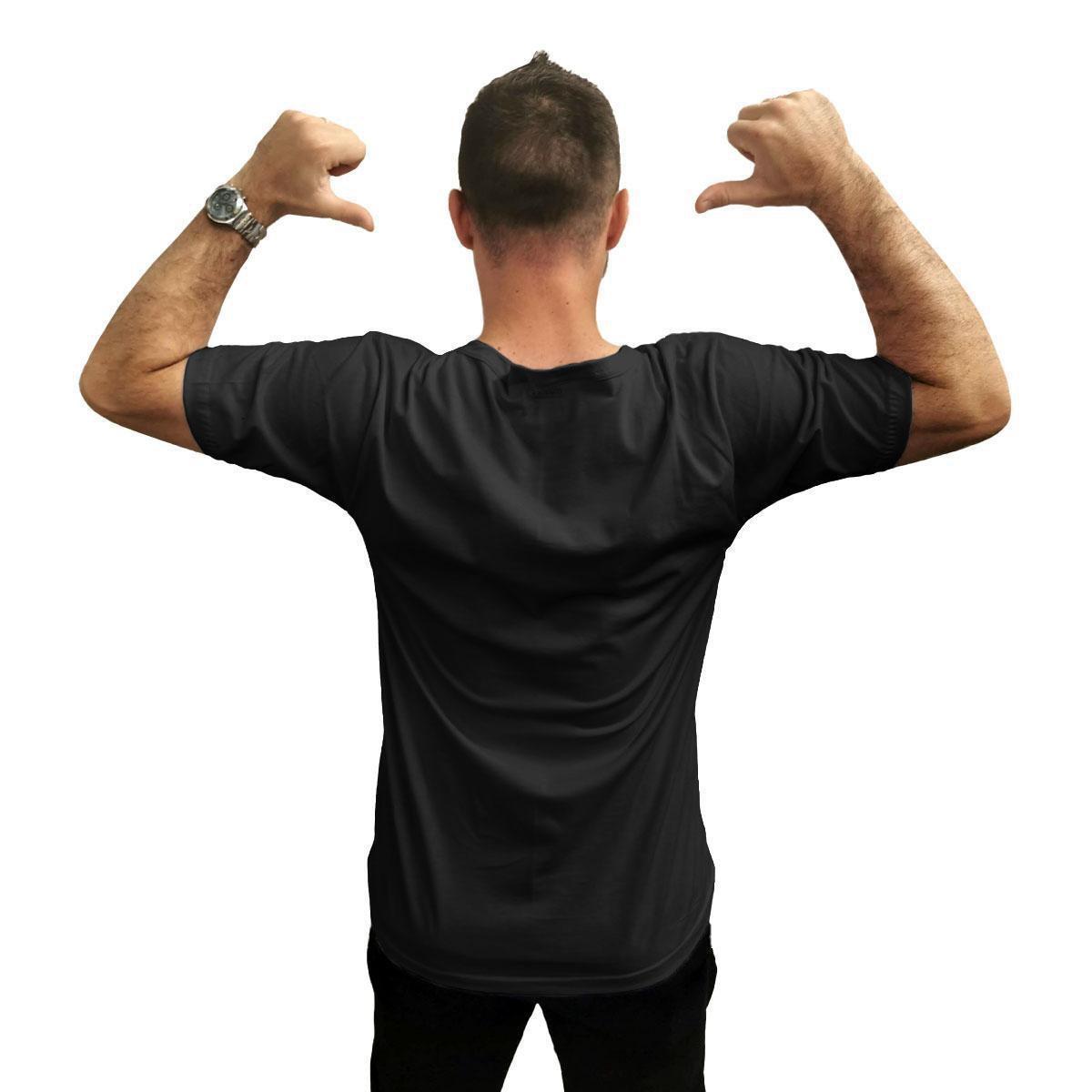 Camiseta Ukkan Monte Carlo Masculina - Preto