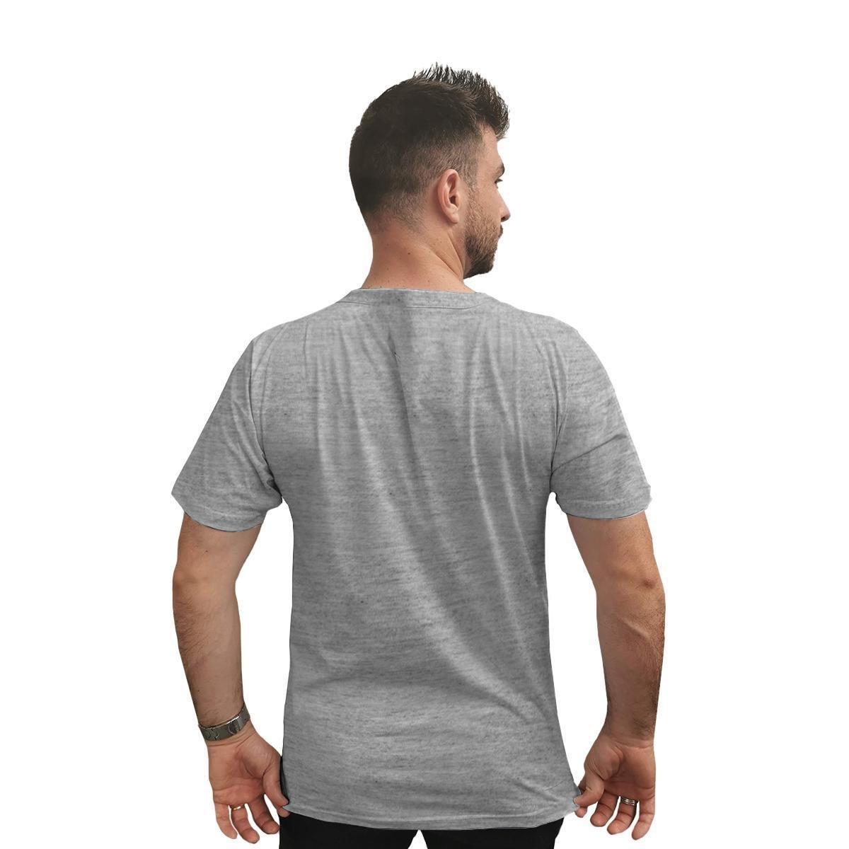 Camiseta Ukkan Riding Aconcrete Wave Masculina - Mescla