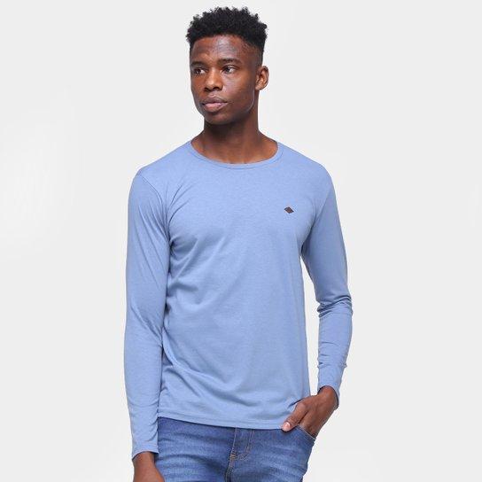 Camiseta Ultimato Manga Longa Masculina - Azul