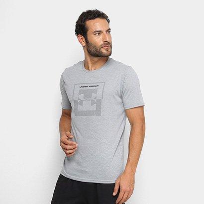 Camiseta Under Armour Inverse Box Logo Masculina