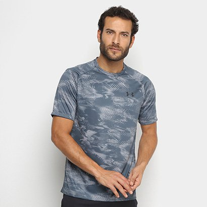 Camiseta Under Armour Printed Tech Masculina