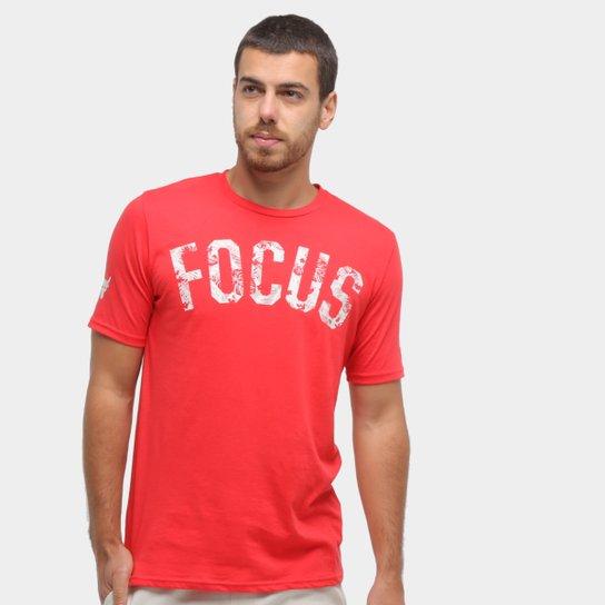 Residencia Vacunar Enderezar  Camiseta Under Armour Project Rock Focus Masculina   Zattini