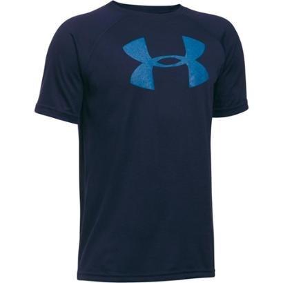 Camiseta Under Armour Tech Big Logo Infantil Masculina