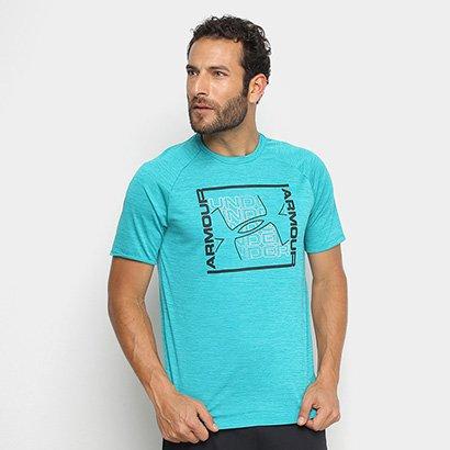Camiseta Under Armour Tech Graphic Masculina