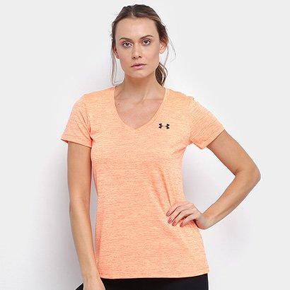 Camiseta Under Armour V-Neck Twist Feminina