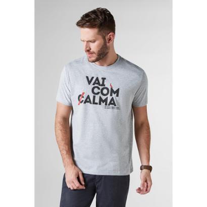 Camiseta Vai Com Alma Reserva Masculina