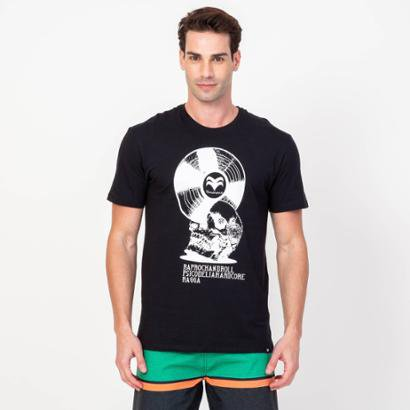 Camiseta Vinyl Vonpiper Crew Masculina