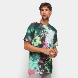 Camiseta Volcom Especial Position Tie Dye Masculina