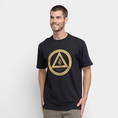 Camiseta Volcom Silk Lamda Masculina