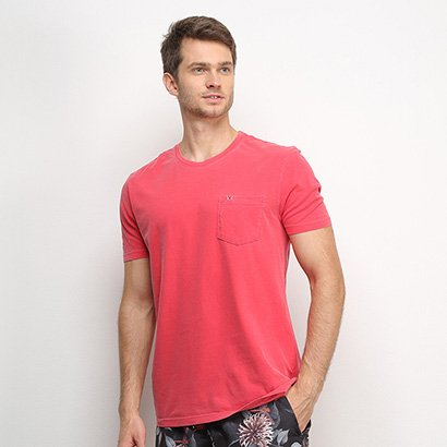 Camiseta VR Básica Bolso Masculina