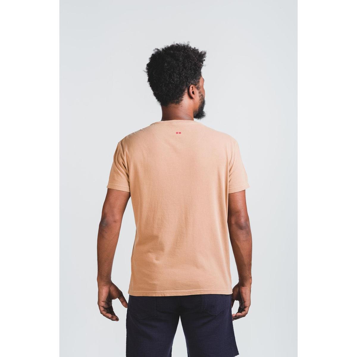 Camiseta Wöllner Pedra Camelo Masculino - Caramelo
