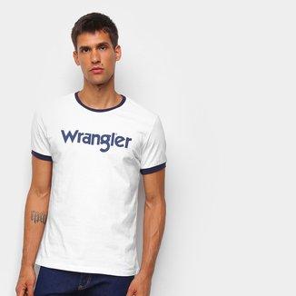 Camiseta Wrangler Estampada Masculina