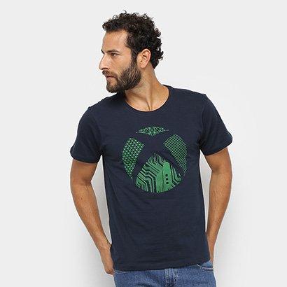 Camiseta Xbox Brand Logo Tech Masculina