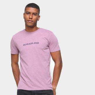 Camisetas Calvin Klein Masculino MC Gola Careca ES6 CCS TM7 T11-CKJM106