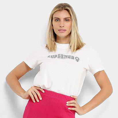 Camisetas Colcci Super Hero Feminina