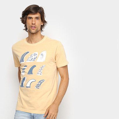 Camisetas Osklen Stone Quilhas Masculina