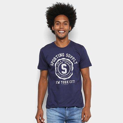 Camisetas Sommer Estampada Masculina