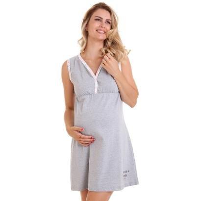 Camisola Gestante Com Algodão Conforto Luna Cuore-Feminino