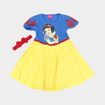 Camisola Infantil Lupo Disney Branca de Neve