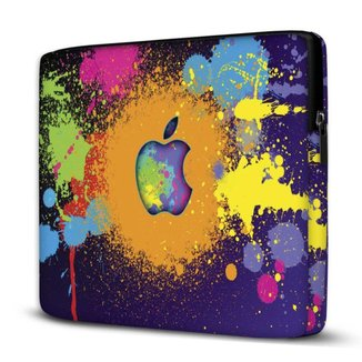 Capa para Notebook Isoprene Colorido 15.6 E 17 Polegadas Com Bolso