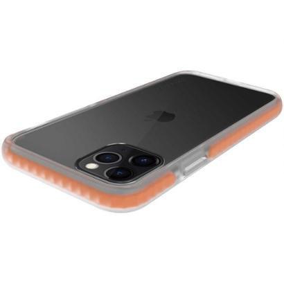 Capinha de Celular Anti-Impacto para iPhone 11 Pro Geonav Impact Pro Unissex-Laranja