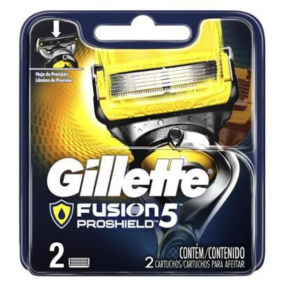 Carga para Aparelho de Barbear Gillette Fusion5 Proshield 2 Un