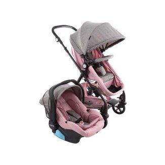 Carrinho de Bebê com Bebê Conforto Cosco Poppy 0 a 15kg