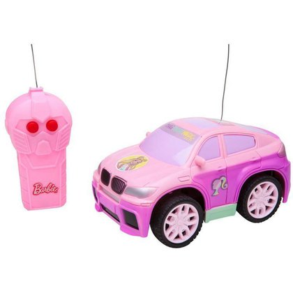 Carrinho de Controle Remoto Barbie Style Machine