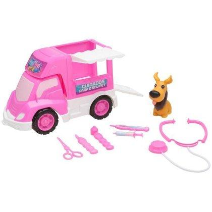 Carrinho Veterinária Pet Care Delivery Samba Toys