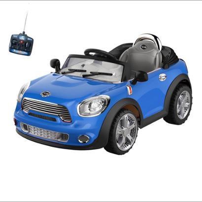 Carro Infantil Eletrico Conversivel 6V Com Controle Remoto