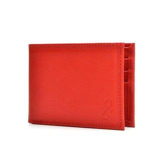 Carteira Couro Hendy Bag com Porta-Cartão Masculina