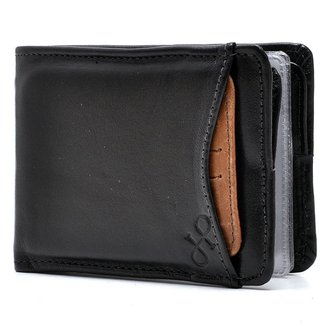 Carteira Couro Hendy Bag com Porta-Cartão