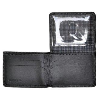 Carteira de Couro Modelo L Hendy Bag Masculina