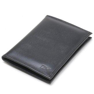 Carteira DM DAMANDO Pequena Porta Cartões e Cédulas Masculina