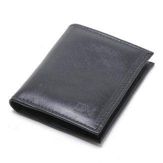 Carteira DM DEMANDO Pequena para Cartões e Cédulas Masculina
