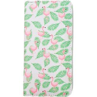 Carteira Glamour  Estampada de Flamingos Feminina