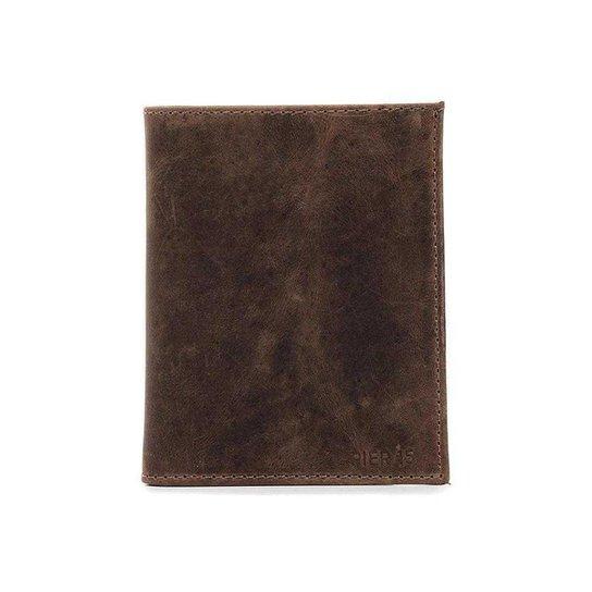 Carteira Masculina Polo State 007 Marrom Escuro - Marrom