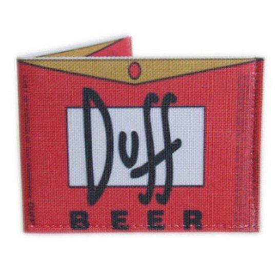 Carteira Porta Cartões Documento Case Slim Estampada - Vermelho