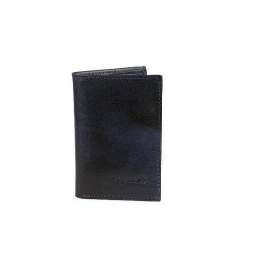 Carteira Porta Cartões Simples  - Reaggio - Preto