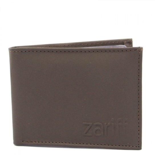 Carteira Zariff Shoes Masculina - Cinza