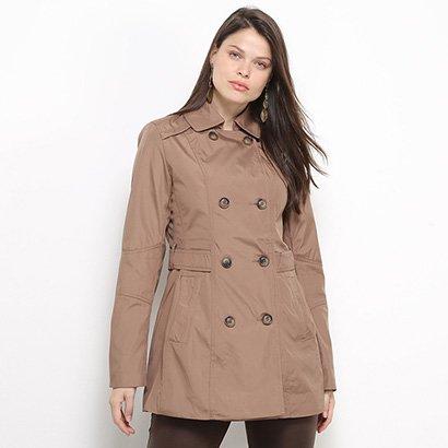 Casaco Facinelli Trench Coat Feminino
