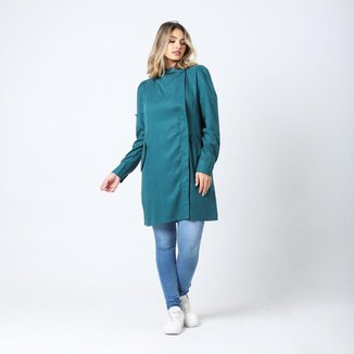 Casaco Fashion Verde Sarge Lady Rock