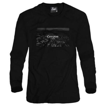 Casaco Moletom Skull Clothing Compton Population Masculino