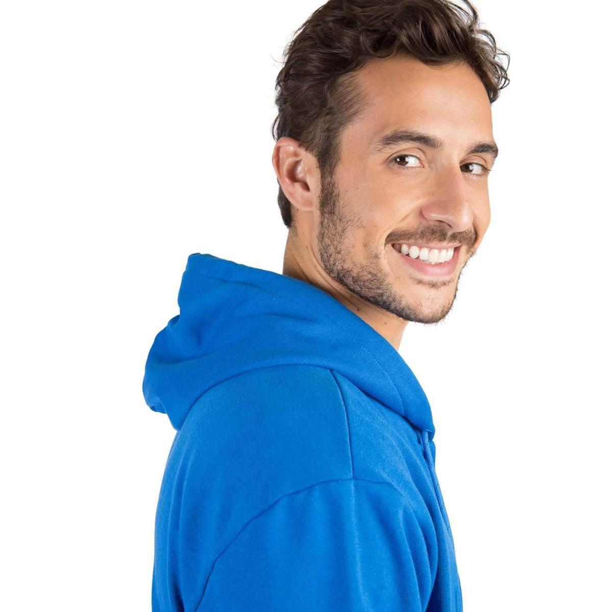Casaco Moletom Taco Masculino - Azul Royal