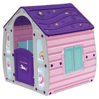 Casinha de Brinquedo Unicornio Infantil Portatil Bel Brink