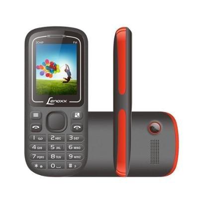Celular Lenoxx CX 904 Dual Chip Radio FM Bluetooth Unissex-Preto+Vermelho